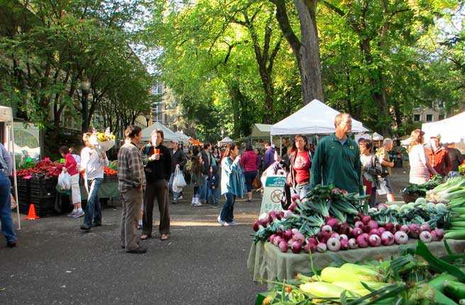 Portland Oregon Farmers Market