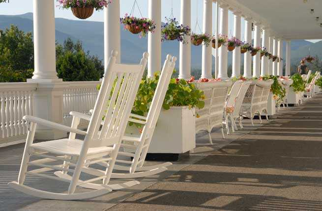 10 best hotel porches in the u s fodors travel guide for Porches login