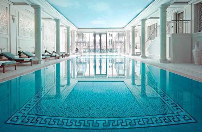 10 best hotel spas in paris fodors travel guide for Pareti salone