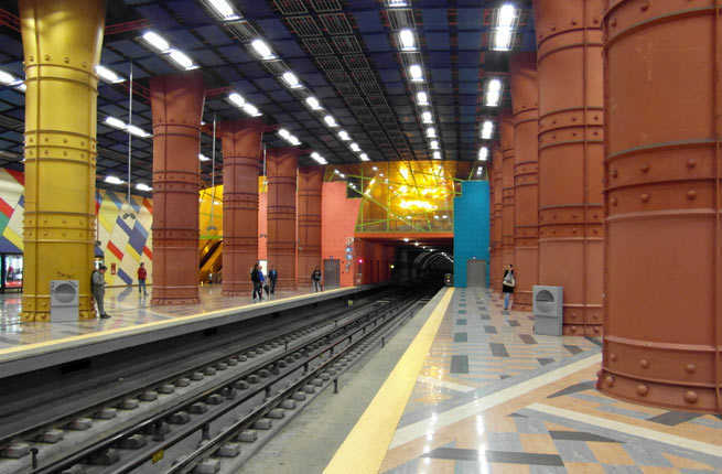 20 Coolest Subway Stations Around The World Fodors