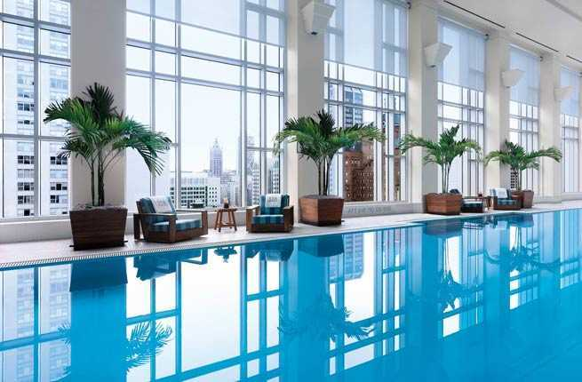 10 great hotel pools for snow day staycations fodors travel guide photo courtesy of the peninsula chicago publicscrutiny Gallery