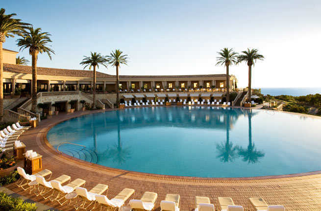 hotel outdoor pool. PHOTO: Courtesy Of The Resort At Pelican Hill Hotel Outdoor Pool