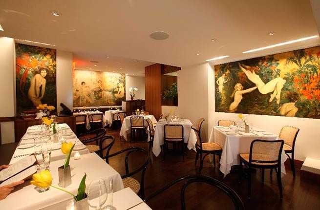Leopard Restaurant Nyc Cafe Des Artistes