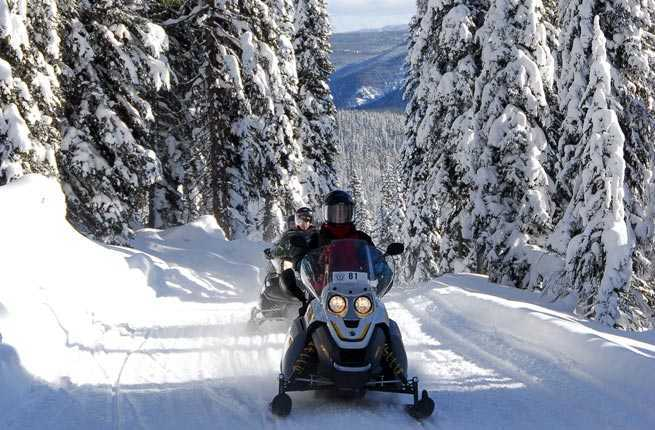 10 Best Places For Snowmobiling In The U S Fodors