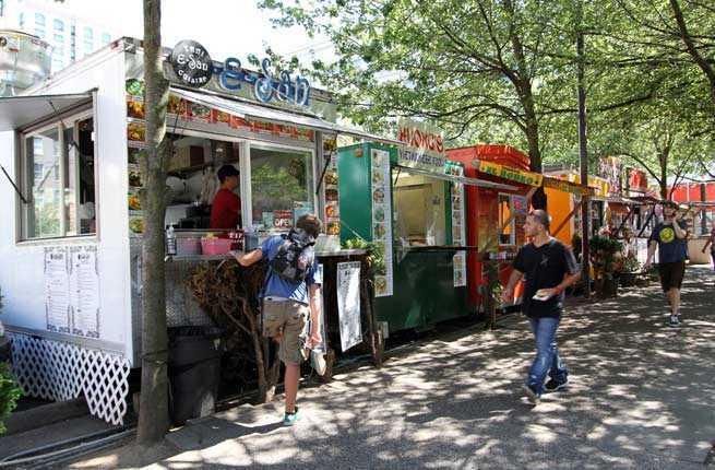 Guerrilla Street Food Truck Menu