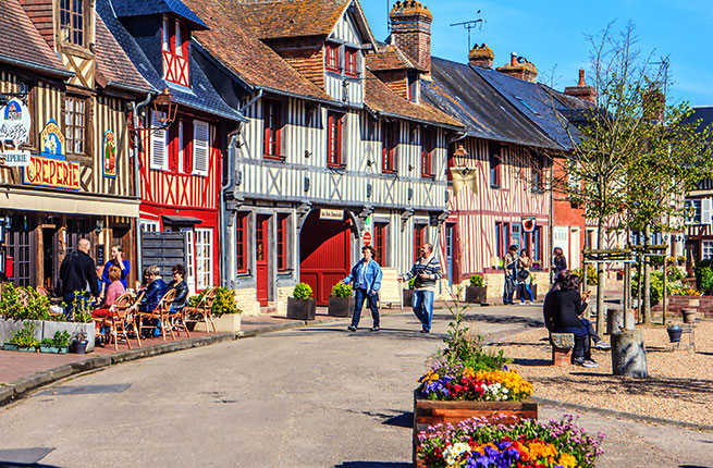 Normandy holidays and festivals promote France's  The first week of May sees gourmands trek out to Cambremer to celebrate the