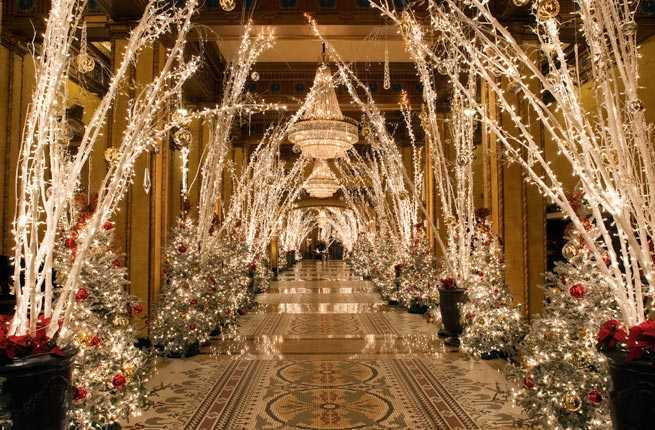 10 Hotels With Over The Top Christmas Decorations Fodors