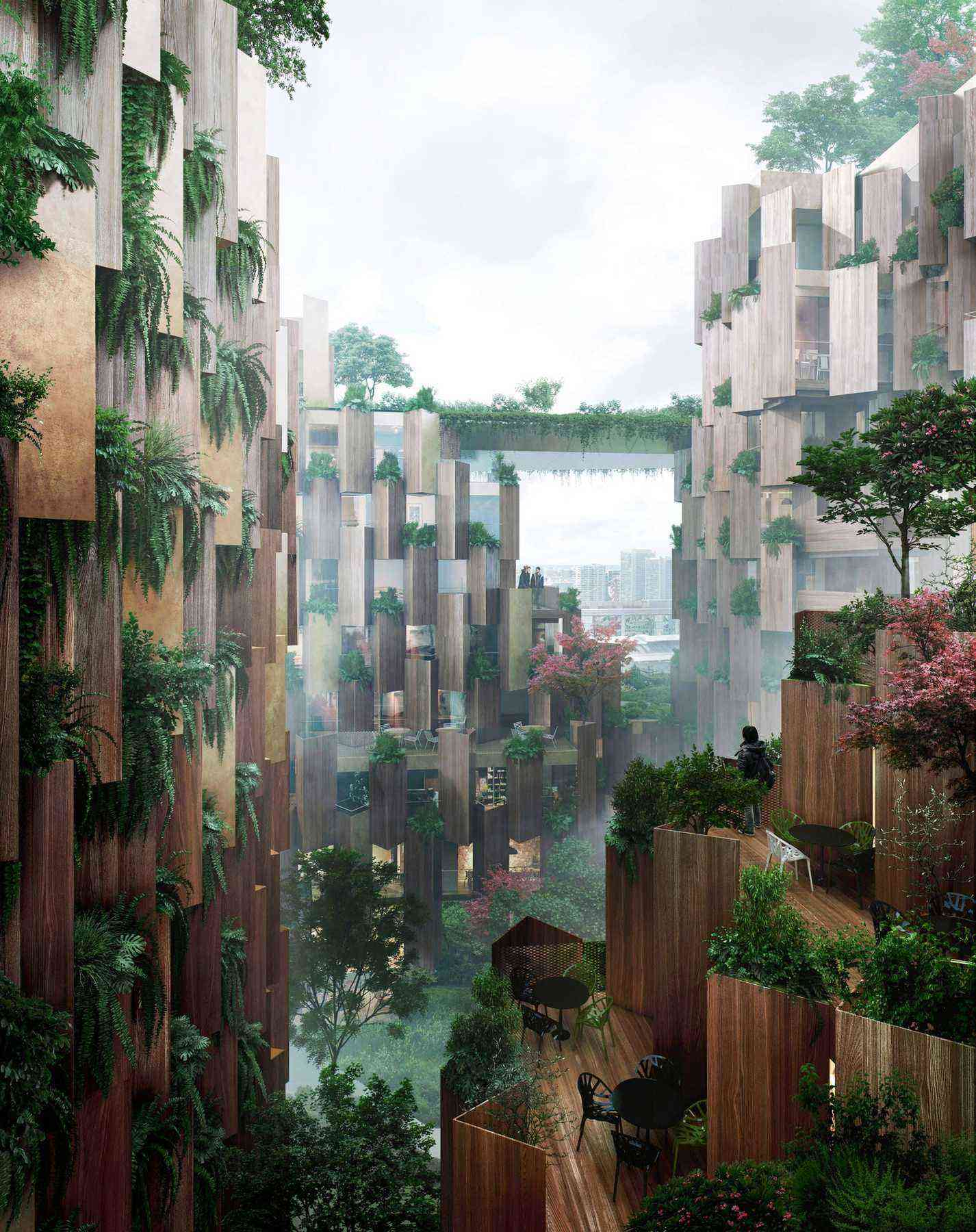 Breathe better in this plant covered hotel in paris for Design hotel paris 11