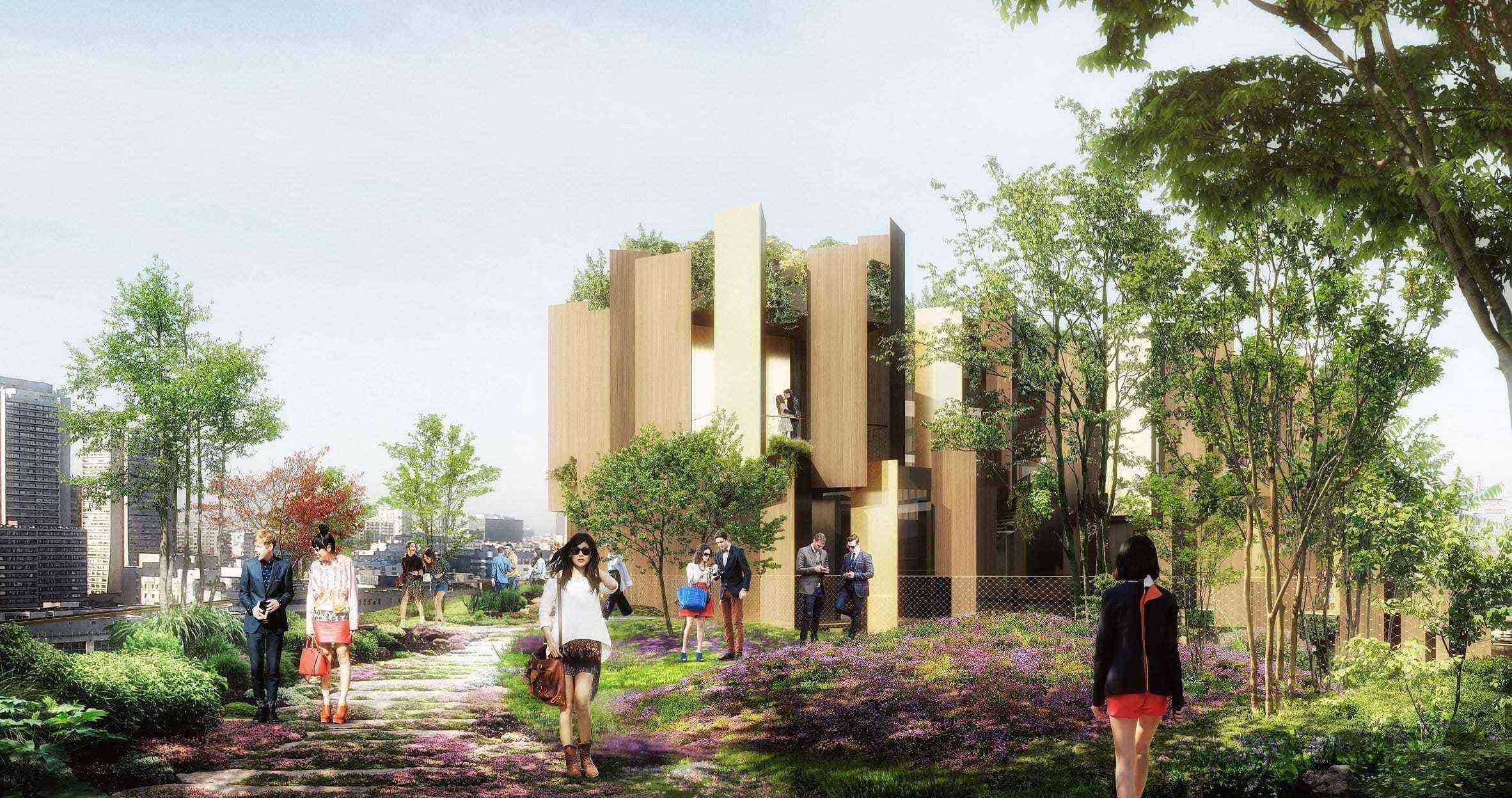 Breathe better in this plant covered hotel in paris for Hotel designer paris