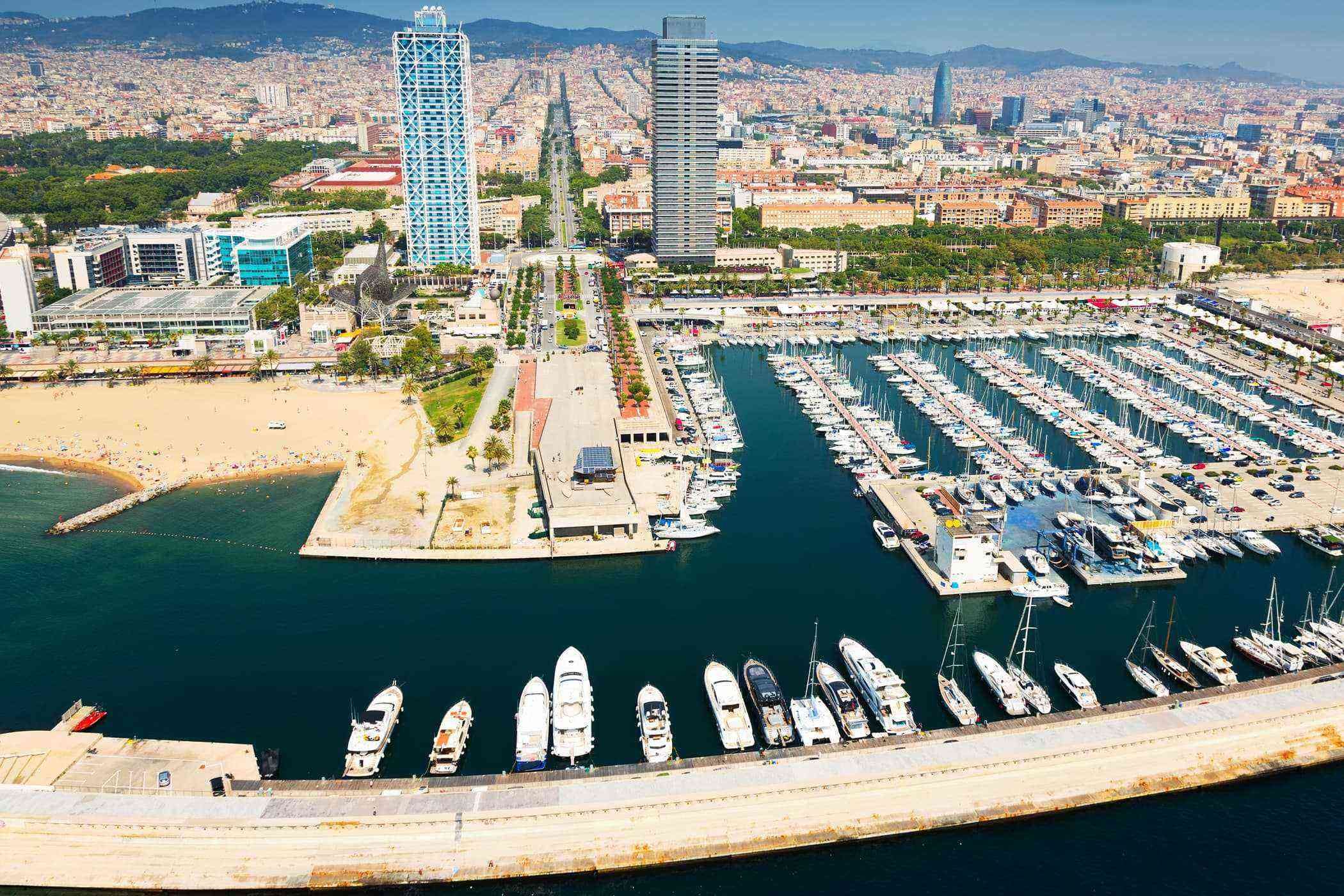 24 Port Olimpic and Beaches