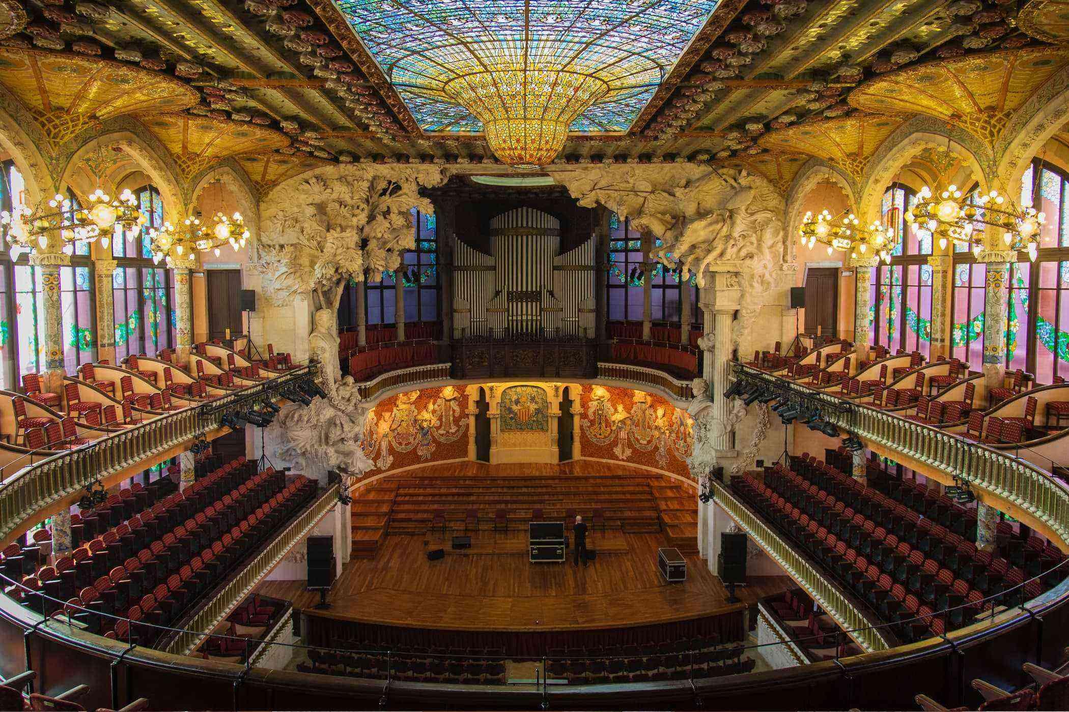 4 El Palau de la Musica Catalana