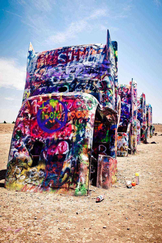 Garbage-Art-Cadillac-Ranch-1