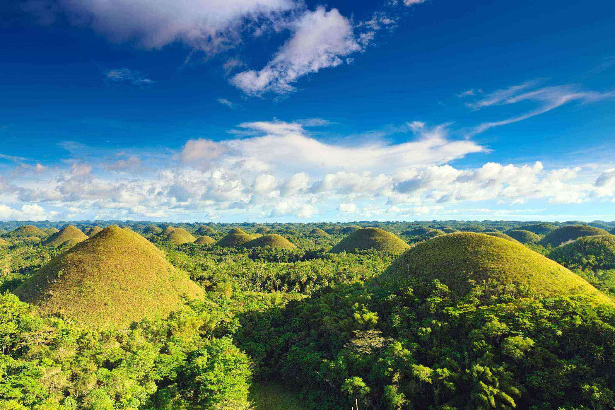 The Chocolate Hills, Bohol, Philippines, Asia
