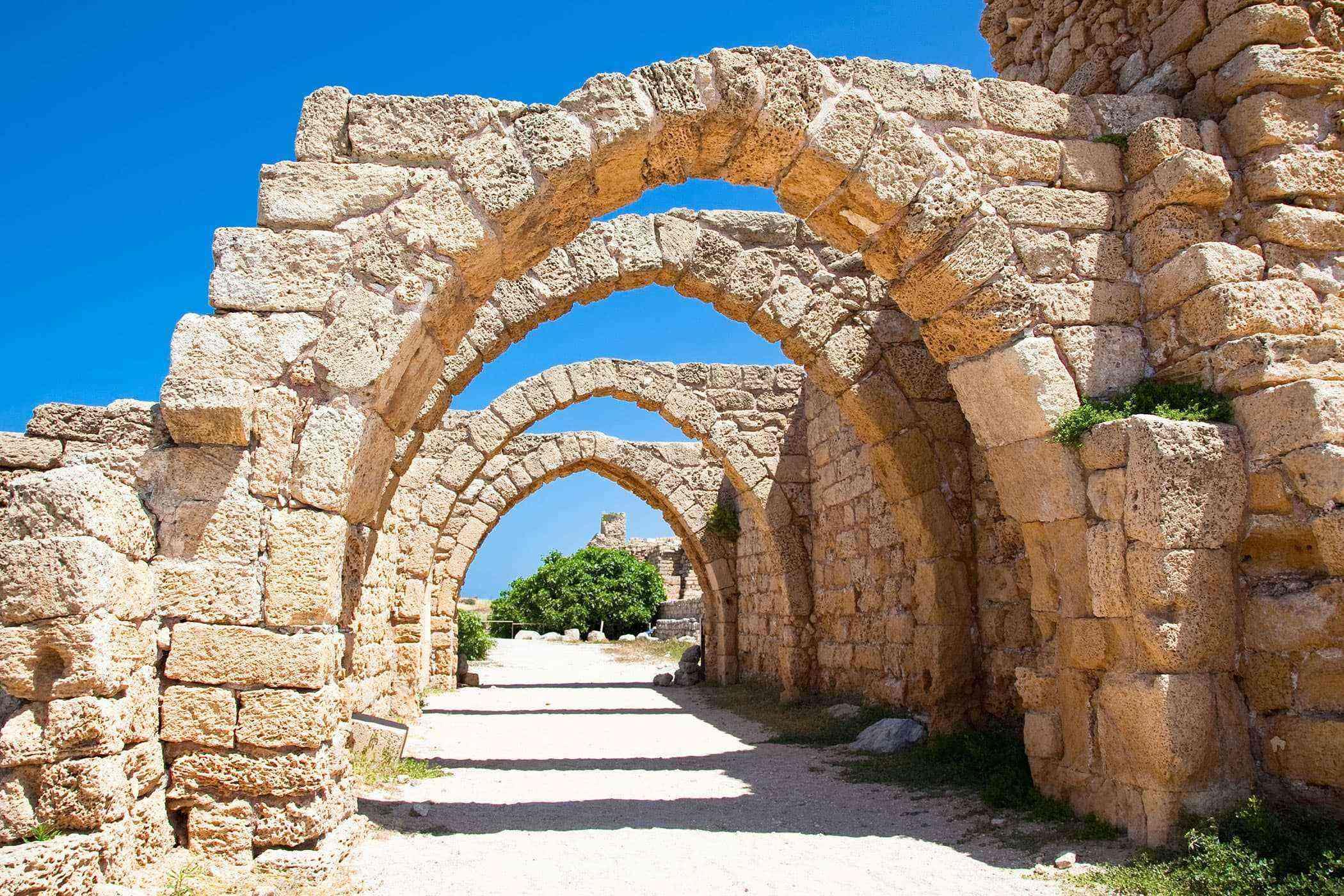 Roman-Ruins-Caesarea-Maritima