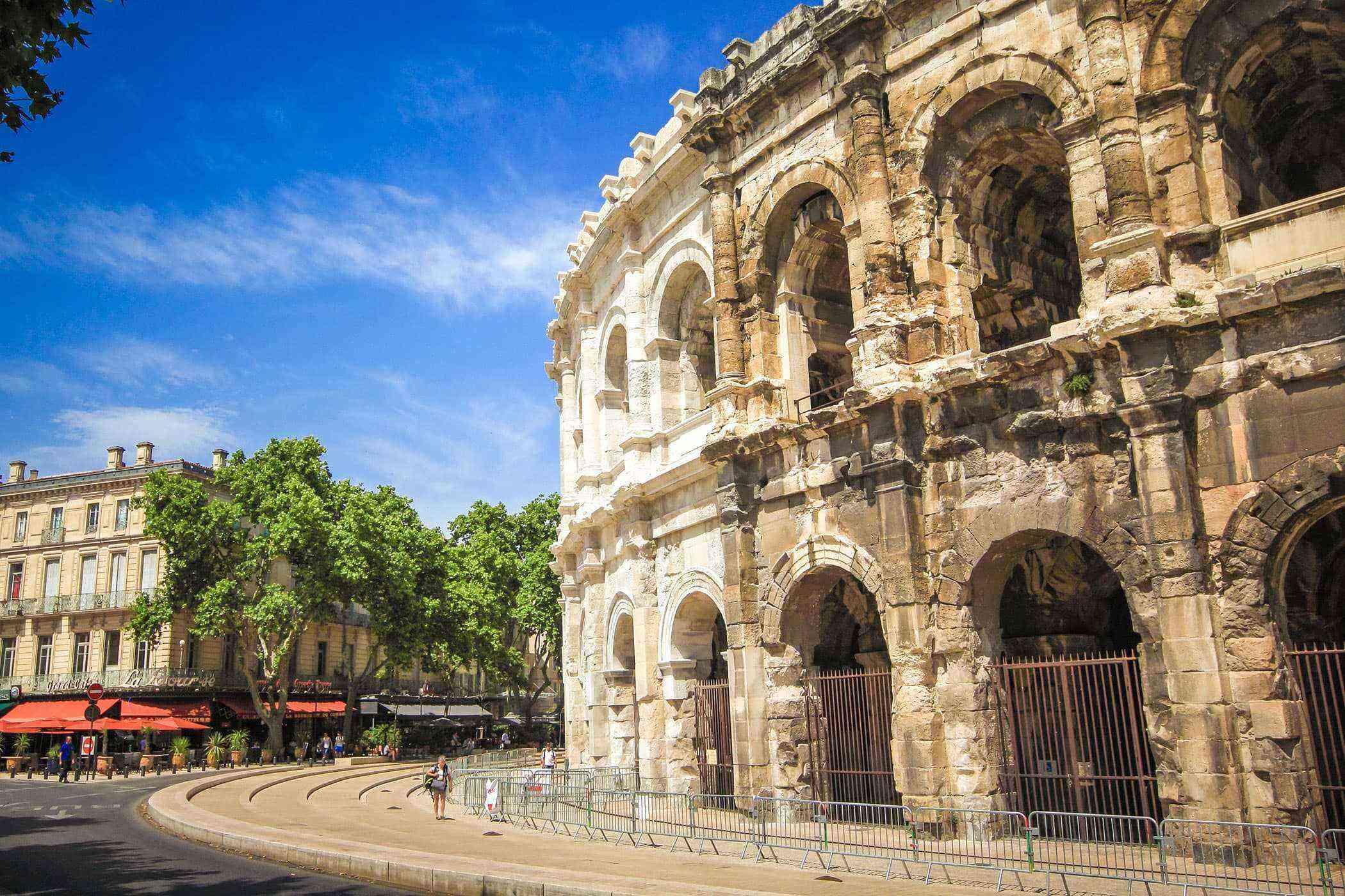 Roman-Ruins-Nimes-Amphitheater