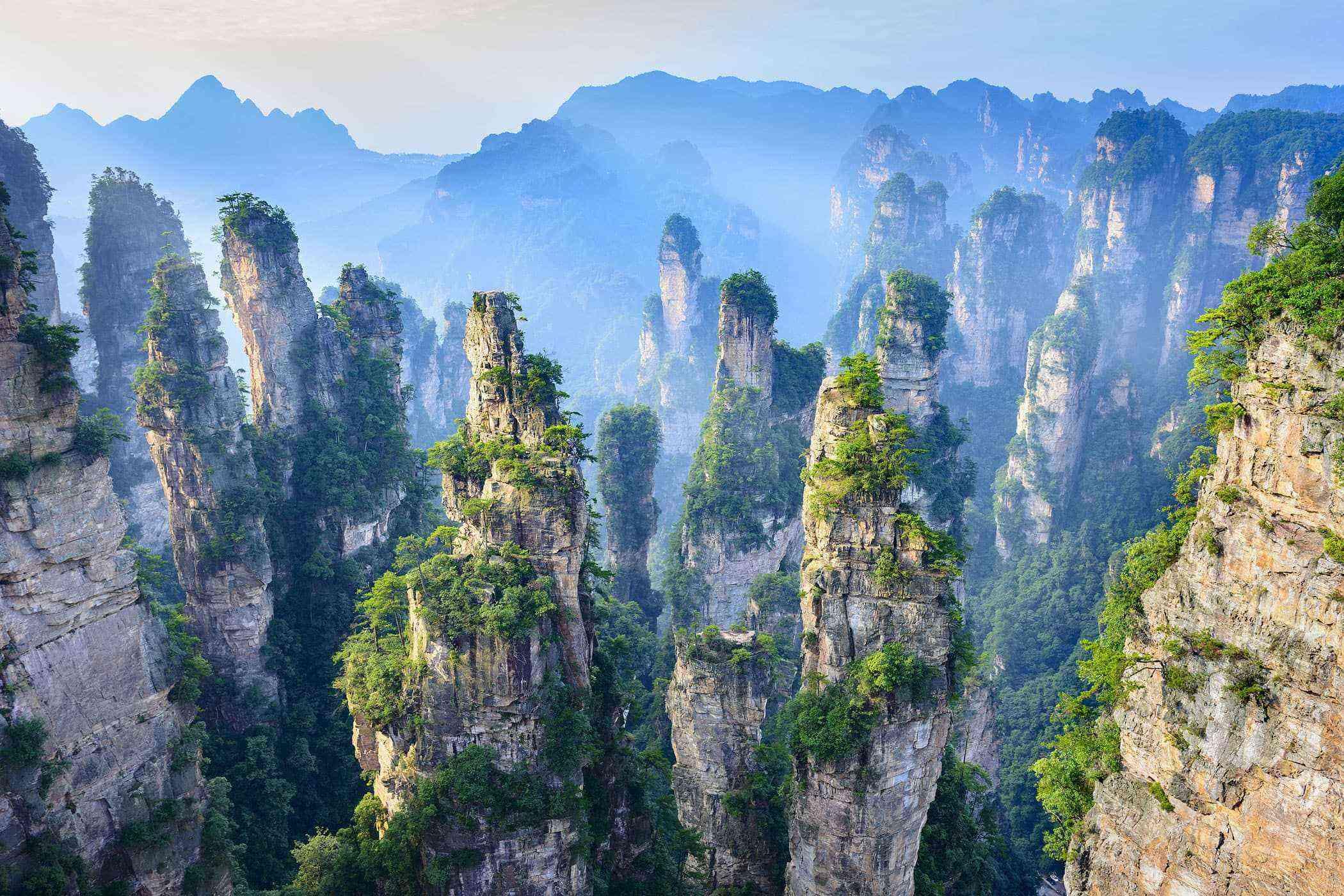 Surreal-Landscapes-Zhangjiajie-Forest-1