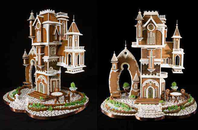 Winners Of Largest Gingerbread House Competition Announced