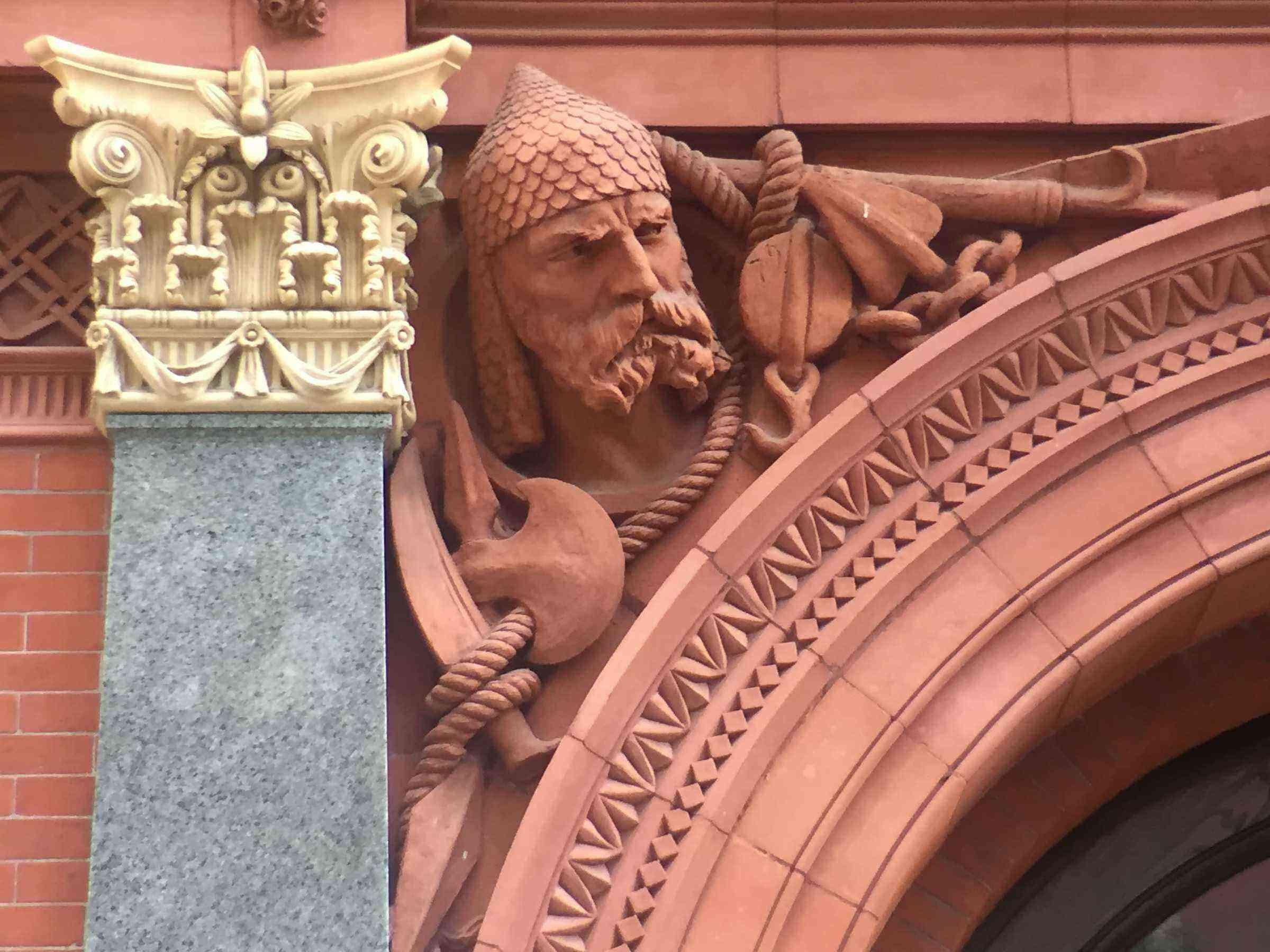 3) Brooklyn Historical Society, Closeup on Crusader