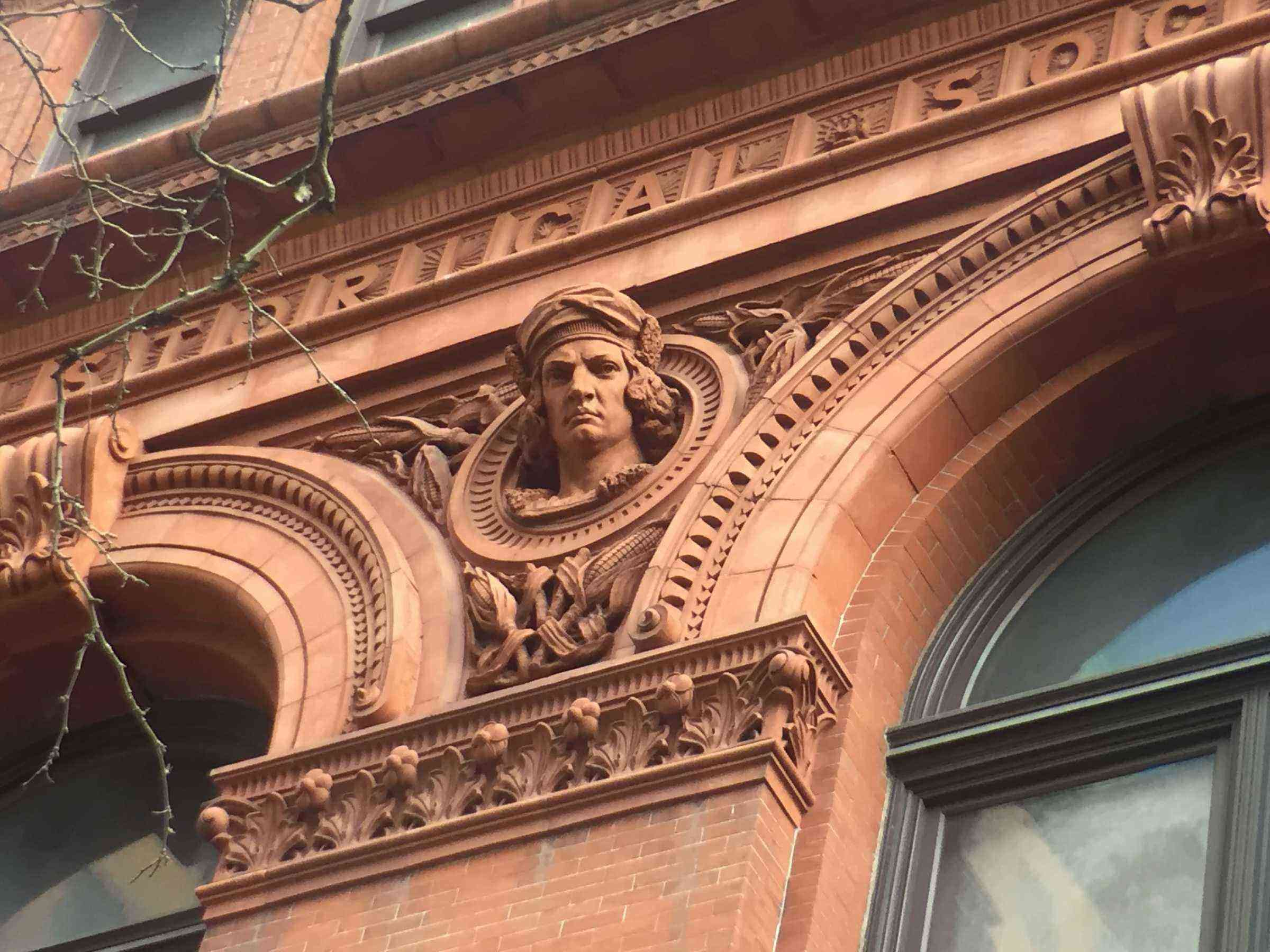 3) Brooklyn Historical Society, Columbus