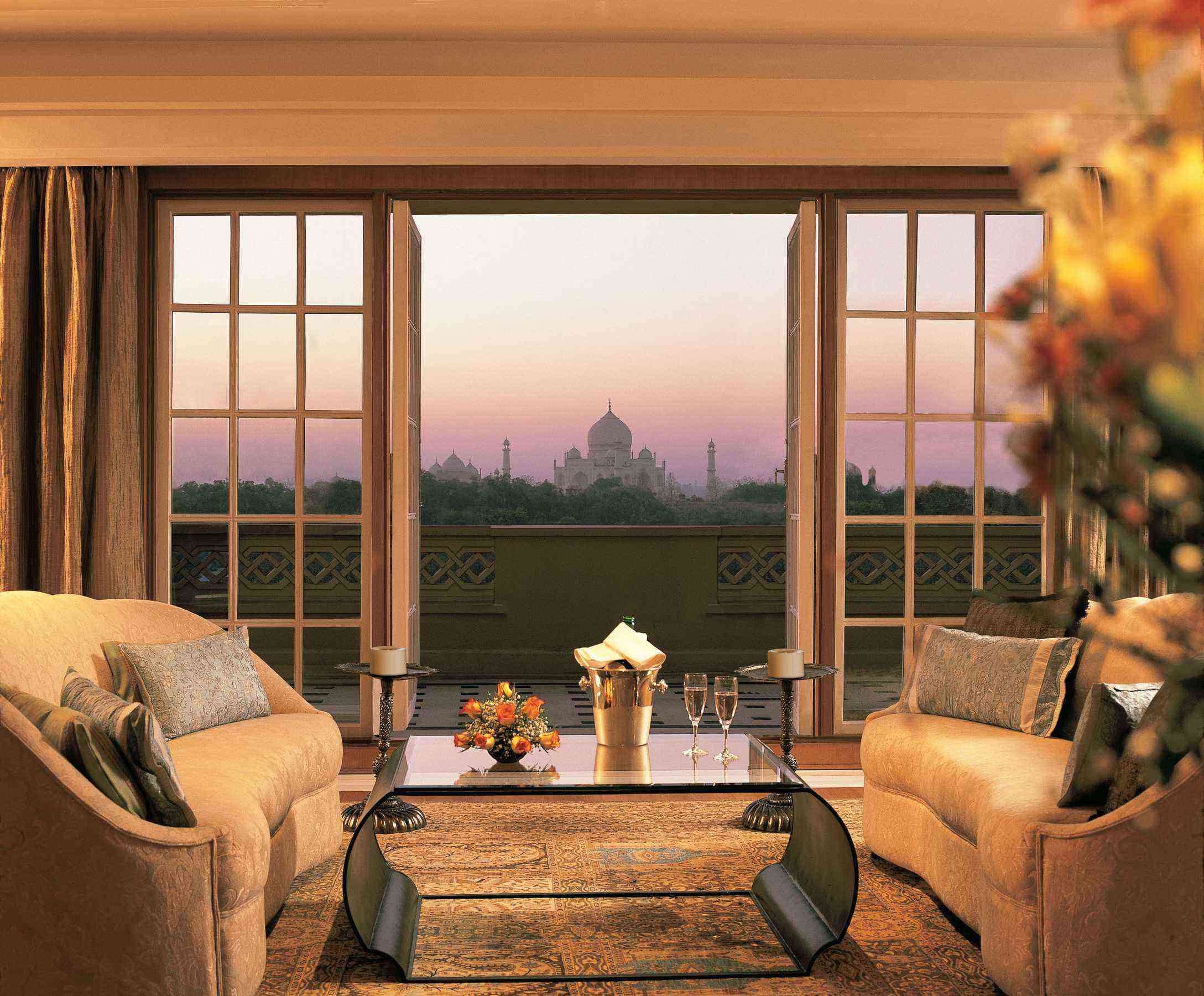 This Hotel Has A Perfect View Of The Taj Mahal Fodors