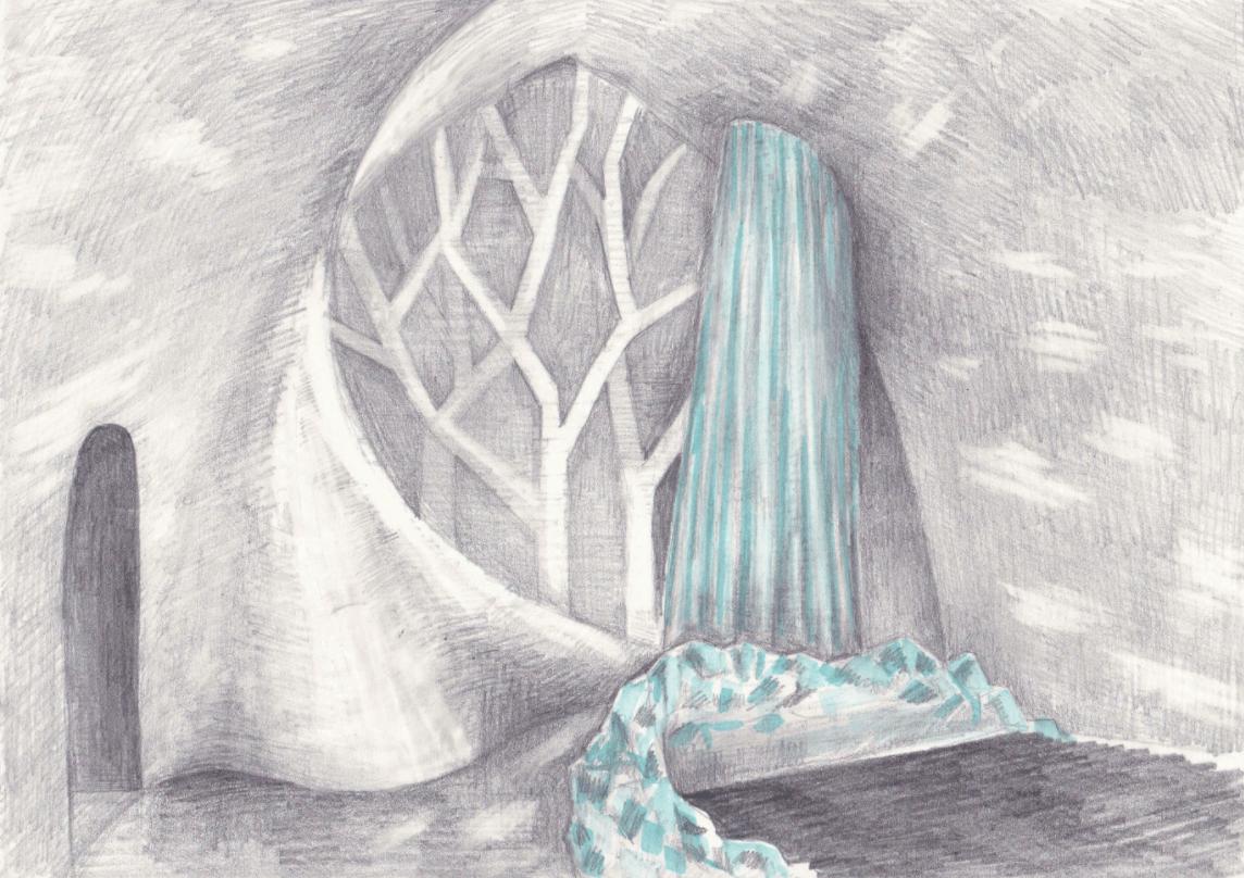 Radiance by Natsuki Saito & Shingo Saito sketch 2