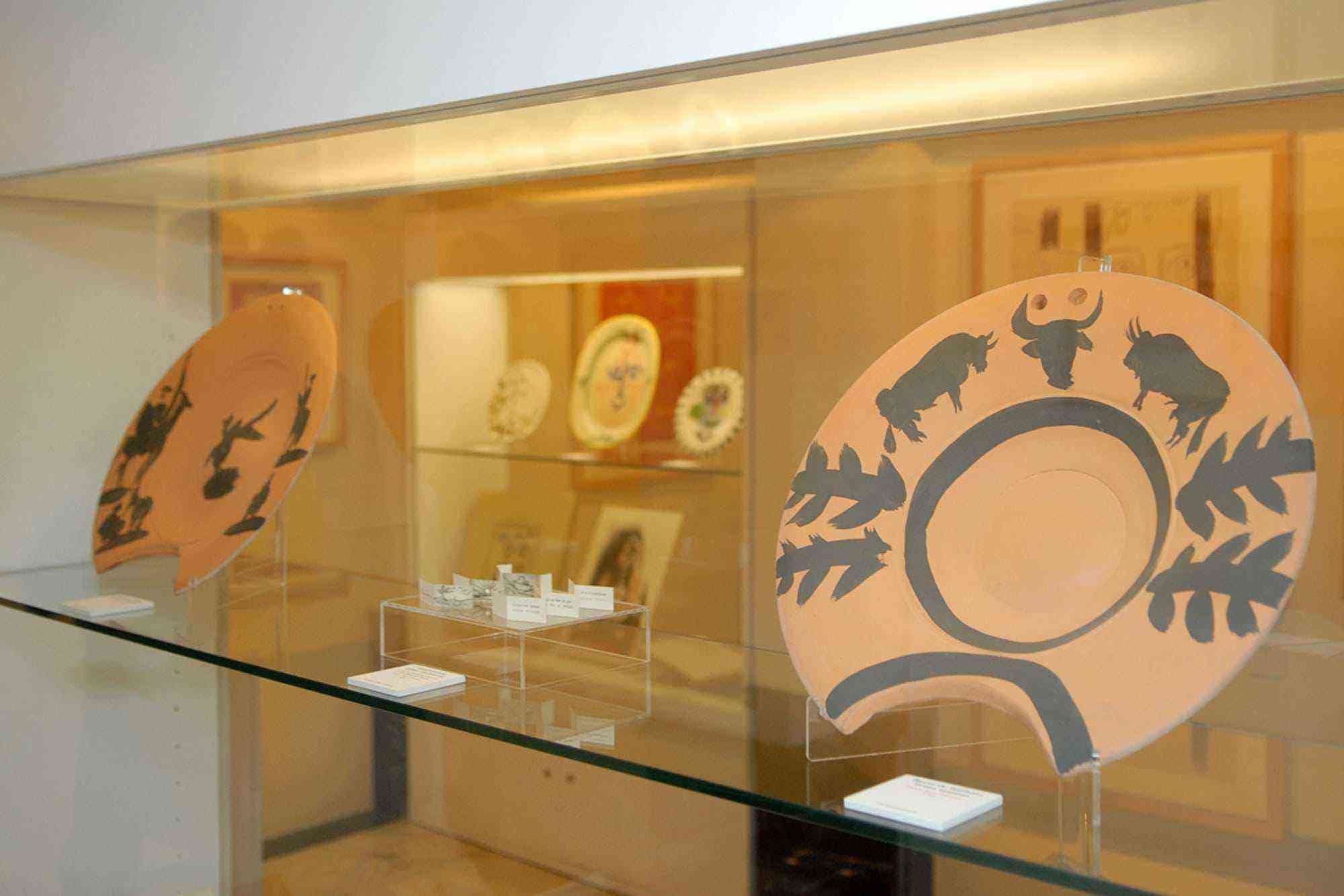 Vitrina Museo Picasso Colecci+¦n Eugeni Arias 2