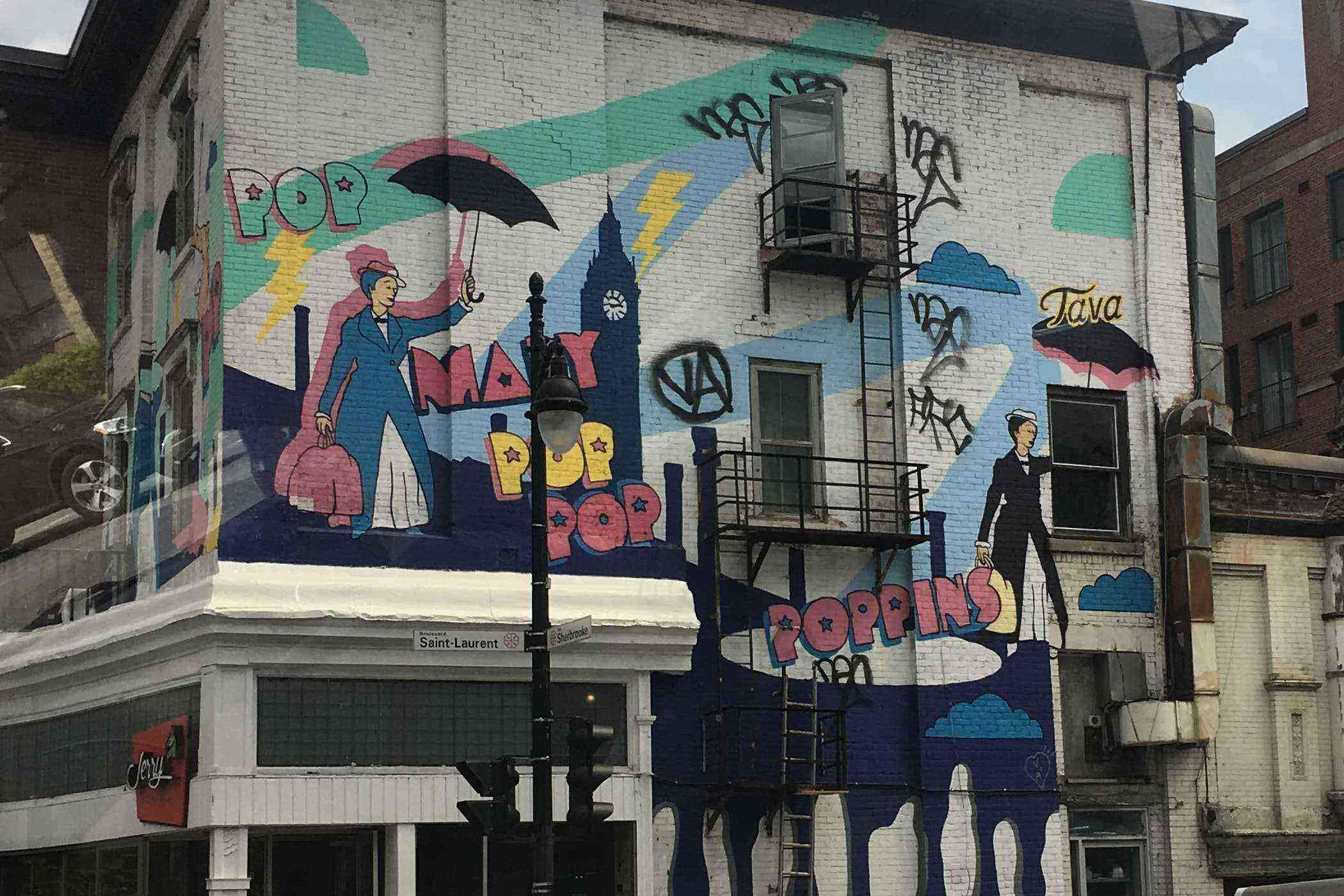 Look at these montreal murals immediately fodors travel for Air climatise mural montreal