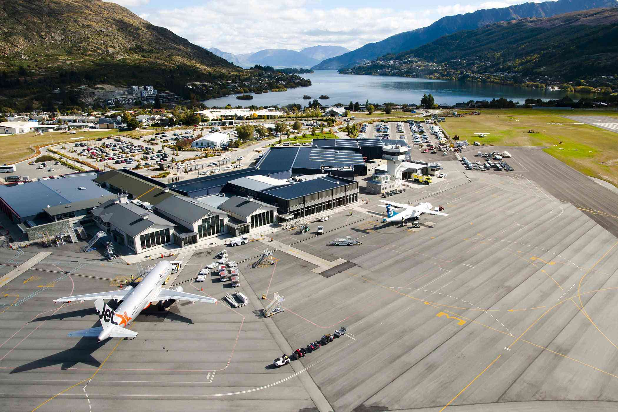 Where To Fly Into South Island New Zealand
