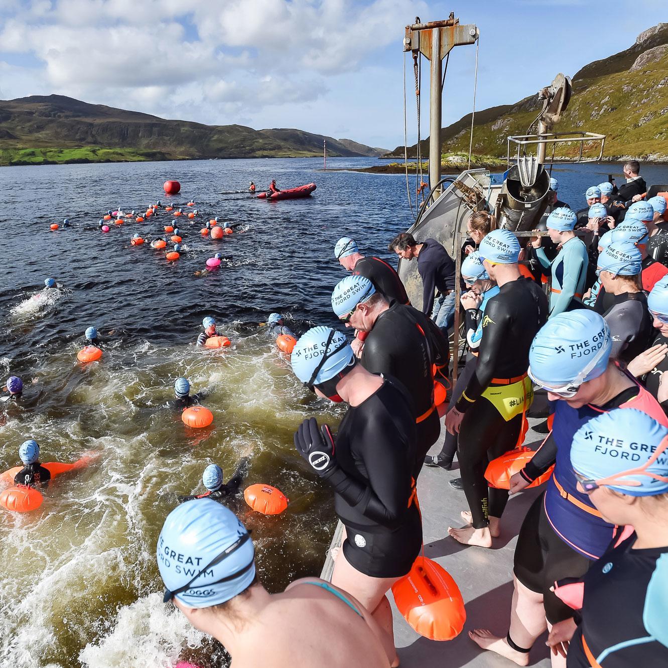12 Open Water Swims