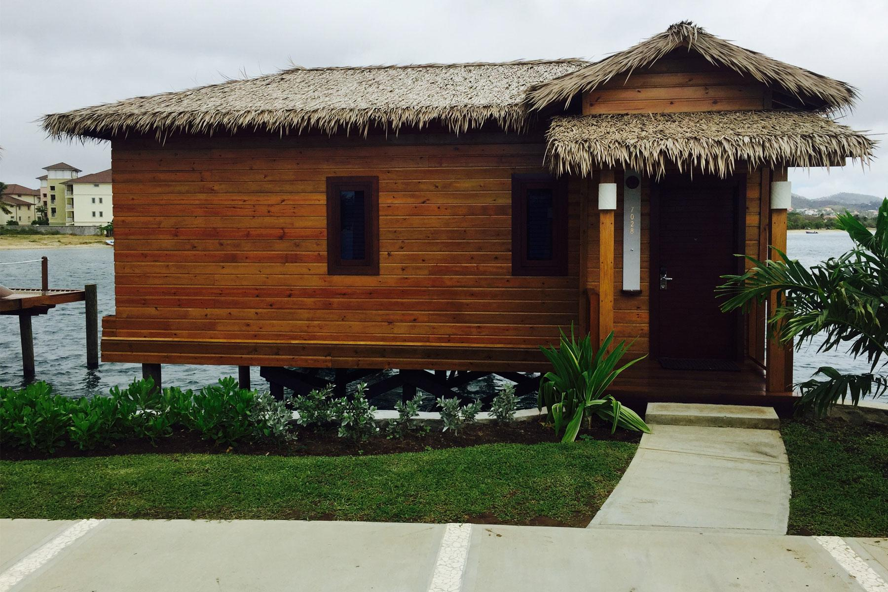 The Overwater Bungalows At The Sandals Grande St Lucian
