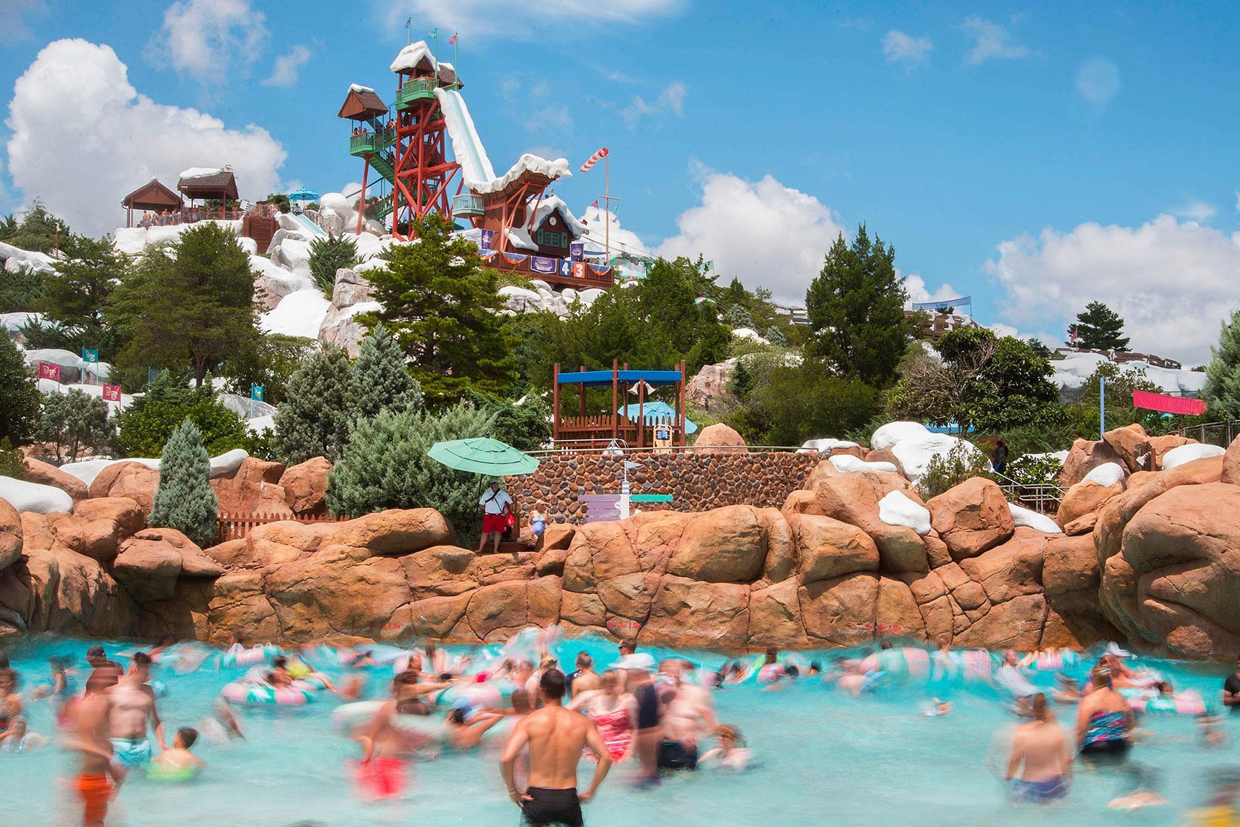Summary Blizzard Beach Water Park Map Walt Disney World
