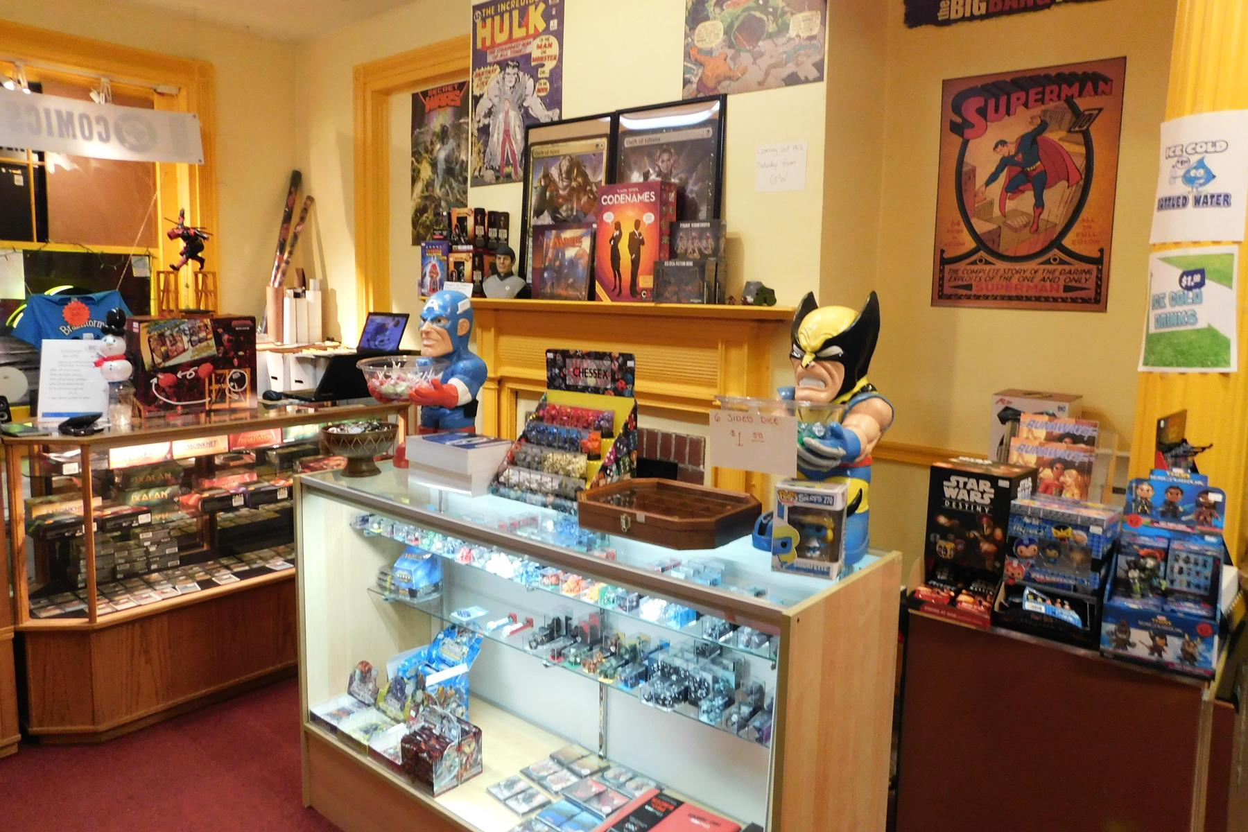 Rooms: World's Best Comic Book Shops