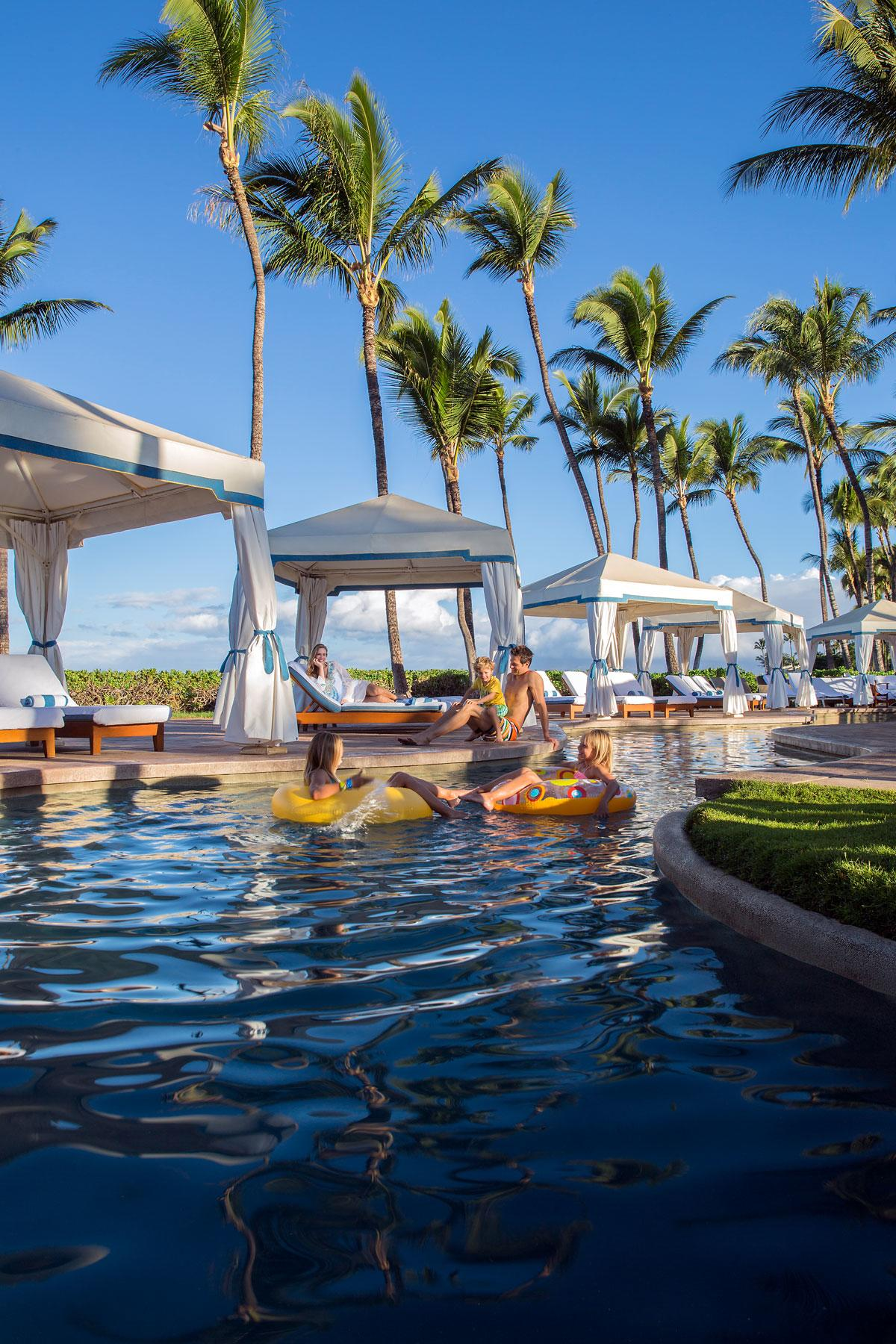 Cabanas Grand Wailea : Lazy rivers for adults fodors travel guide