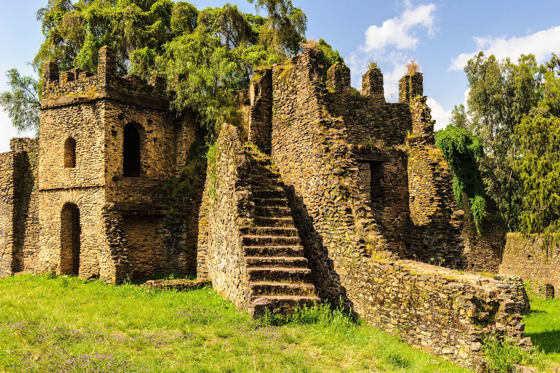 The Medieval Castle You'd Never Expect to Find in Ethiopia