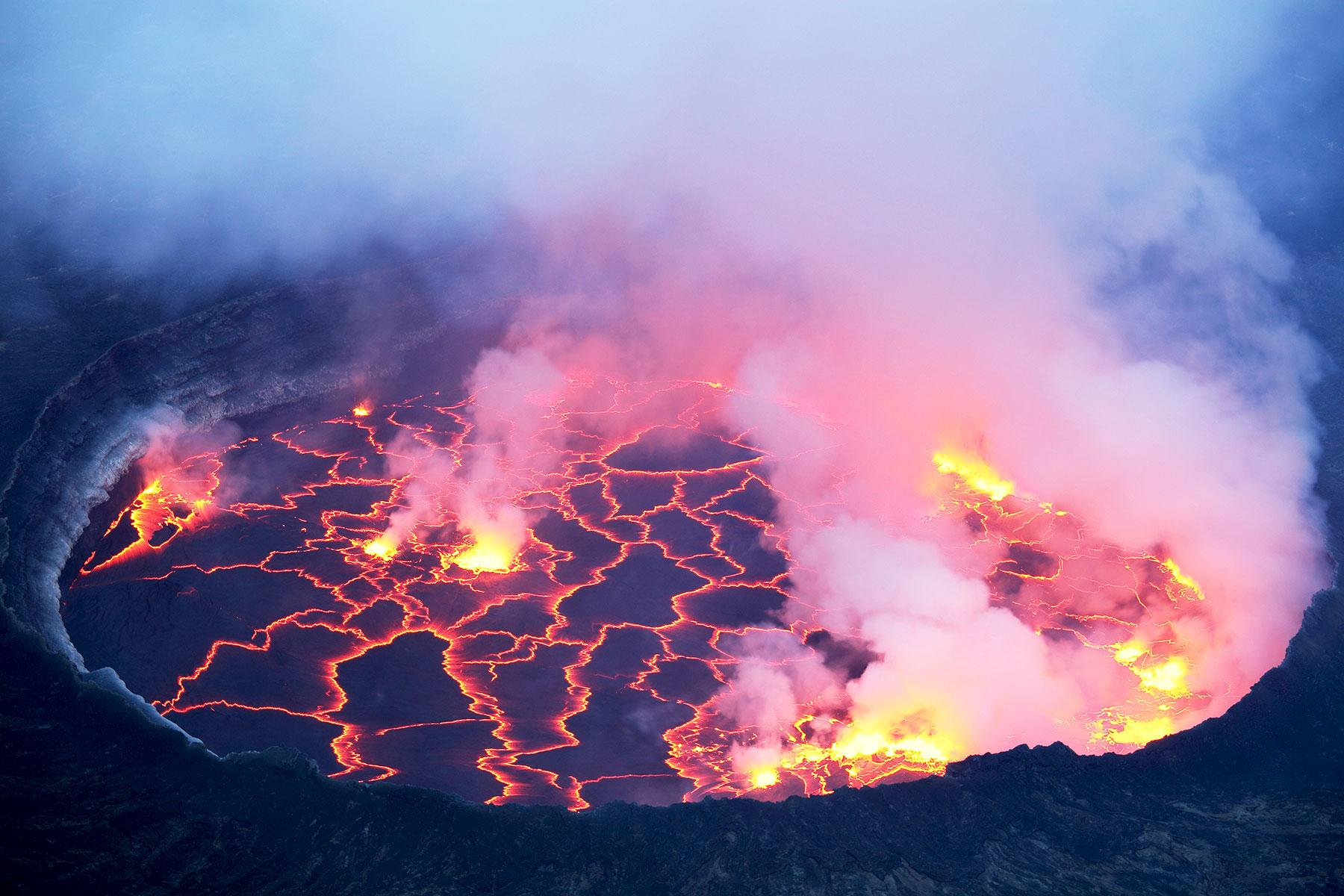 Nyiragongo Volcano Eruption How to Hike Congo's Mo...