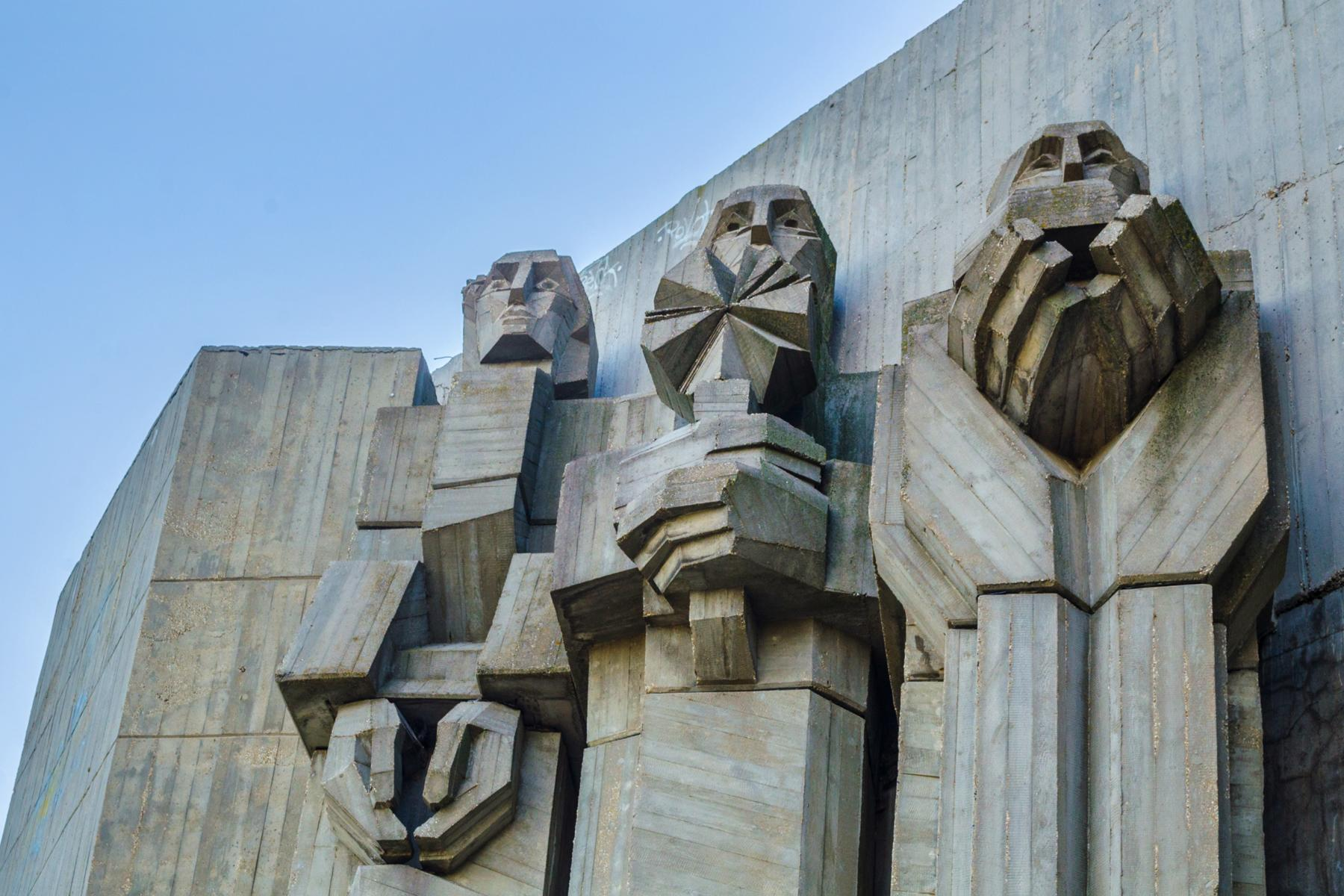 giant statues and monuments from the soviet union