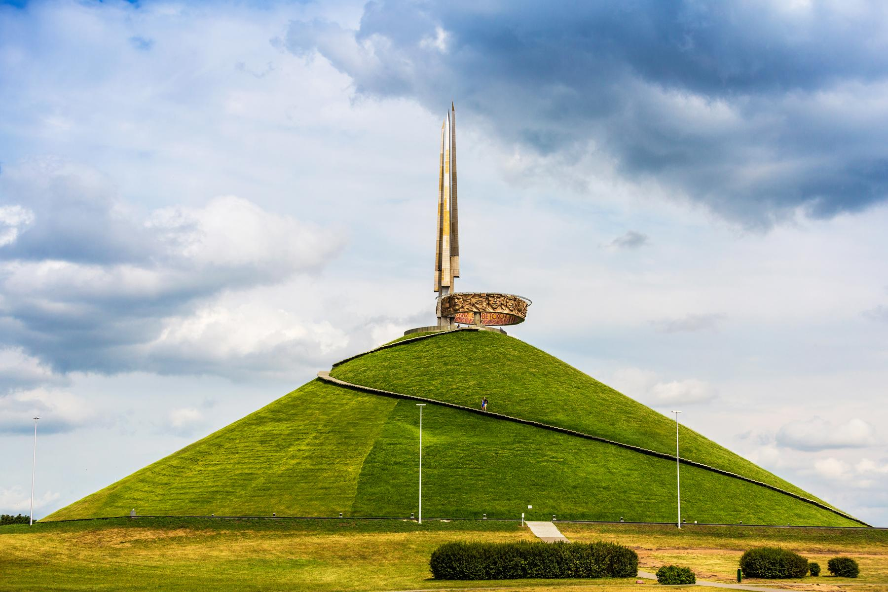 We study the Motherland. Where is the mound