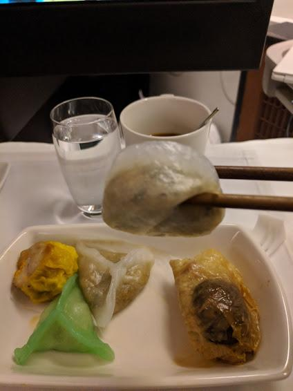 Flight, Breakfast, DimSum