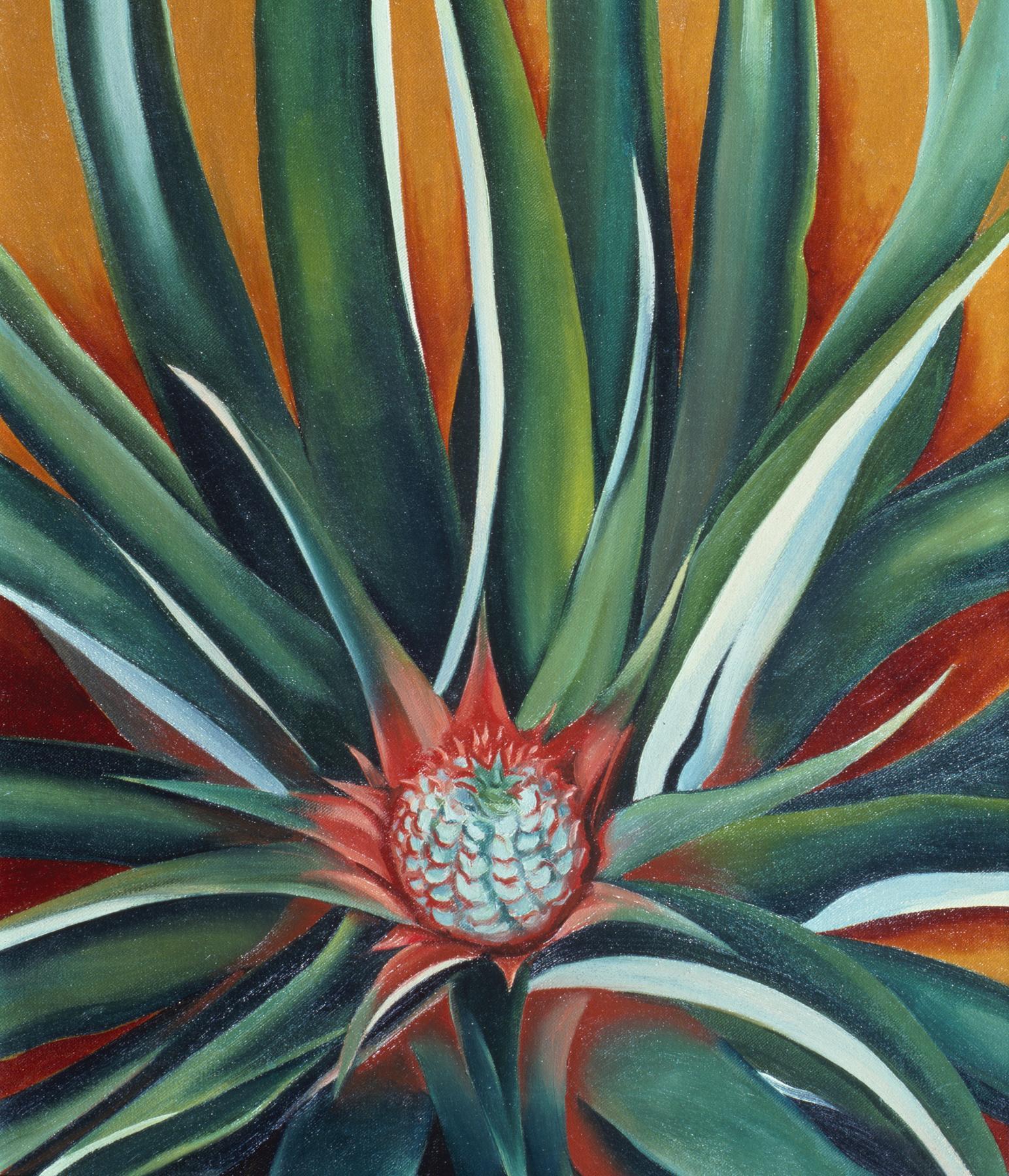 NYBG_Georgia_O'Keeffe_Pineapple_Bud