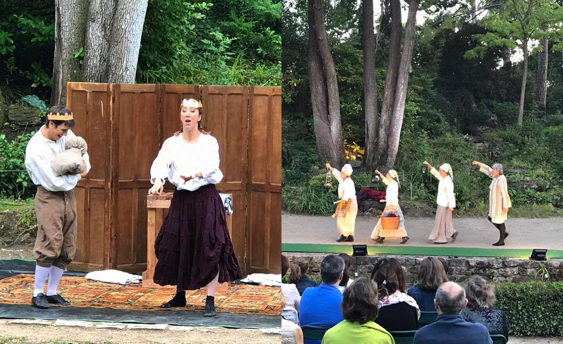 The best outdoors things to do in paris - Theatre de verdure du jardin shakespeare pre catelan ...