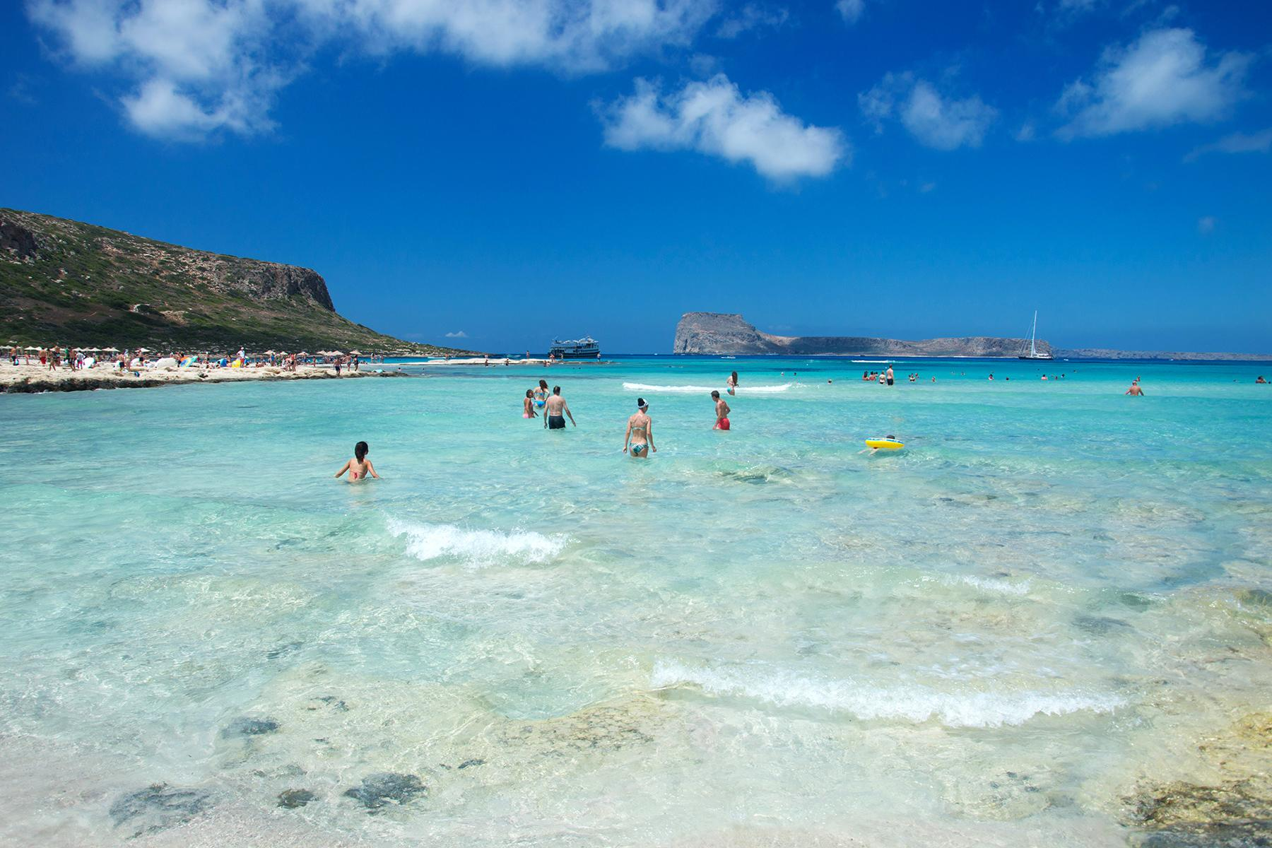 balos beach crete how to get there