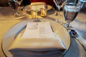 Titanic Dinner Menu