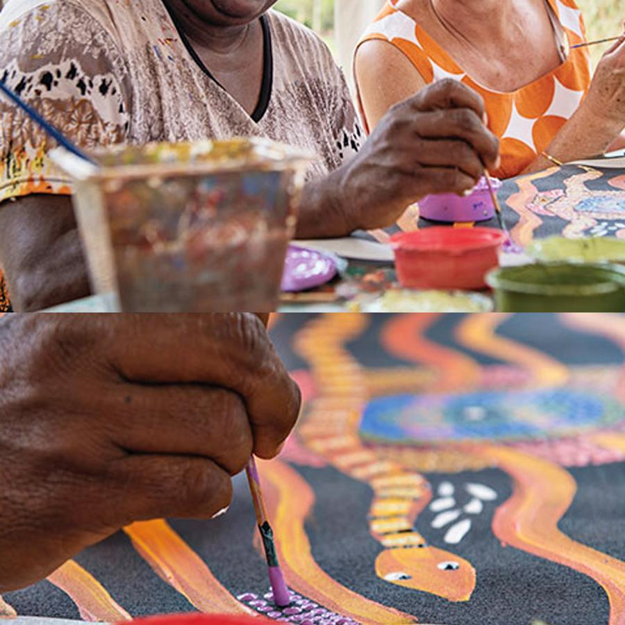 3. Unique-Hotel-Experiences-Make-Aboriginal-Art-1
