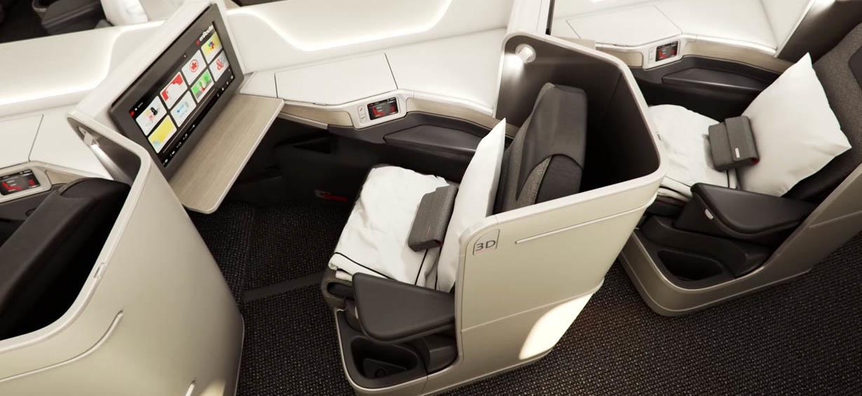 Air Canada Lie-Flat