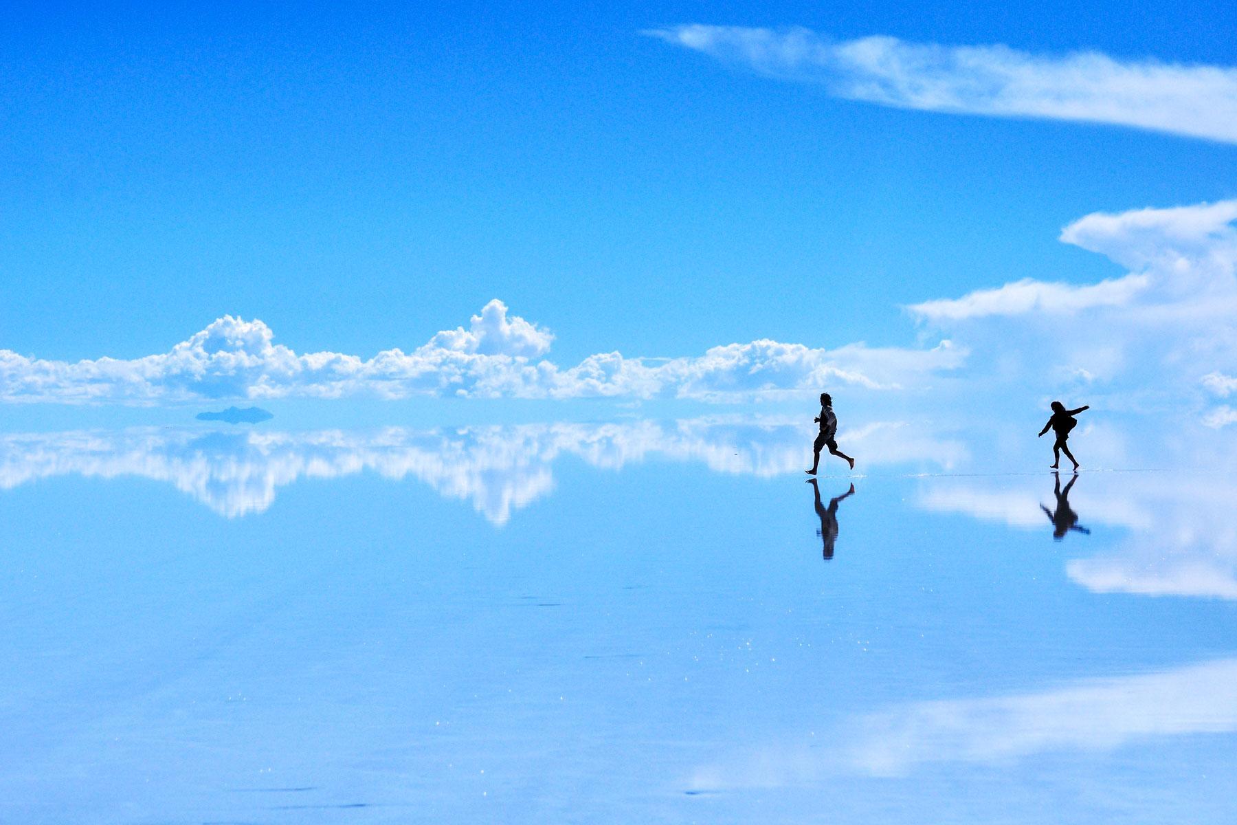 Psychedelic Images of Salar de Uyuni, South America's Most Surreal Landscape