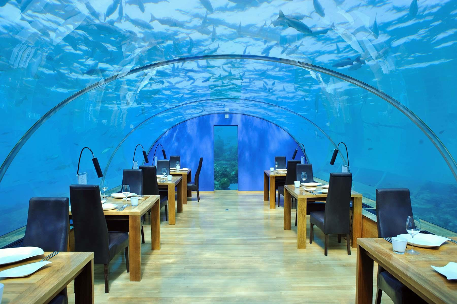 Underwater hotel Conrad Maldives The Worlds First Underwater Hotel Villa Just Openedplus Other Hotel Stays To Give You Panic Attack Travelstart The Weirdest Hotels You Can Stay In
