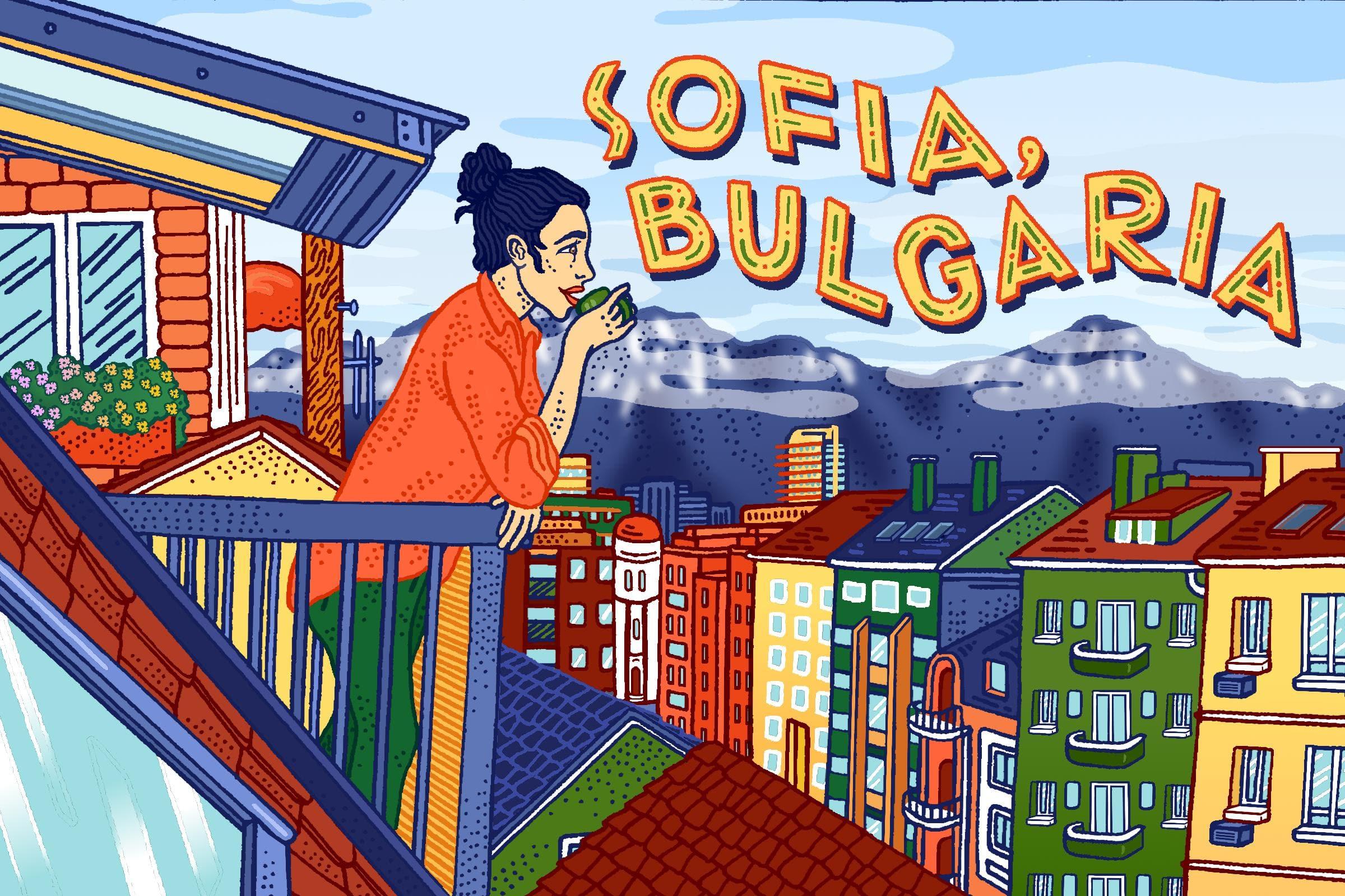 Sofia Bulgaria Final Color